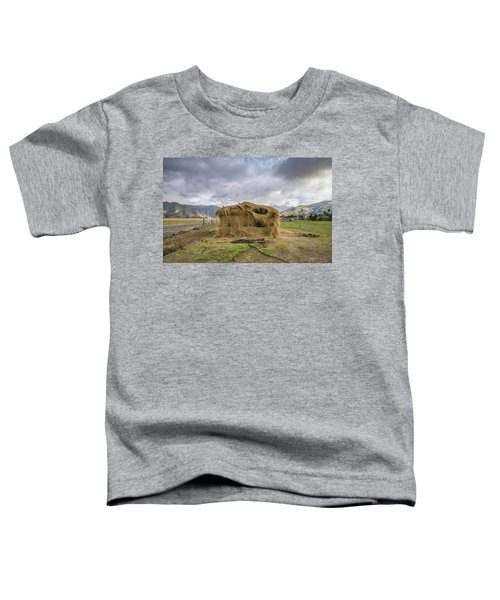 Hay Hut In Andes Toddler T-Shirt