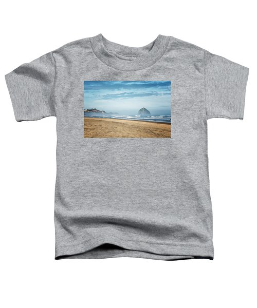 Haystack Rock Pacific City Toddler T-Shirt