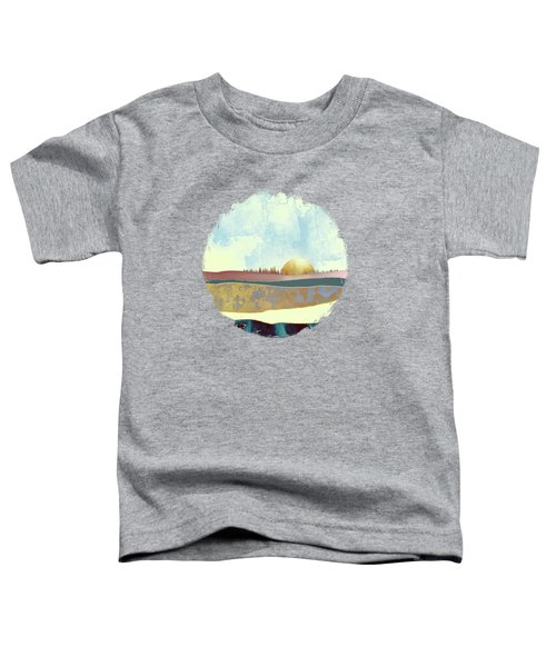 Hazy Afternoon Toddler T-Shirt by Katherine Smit