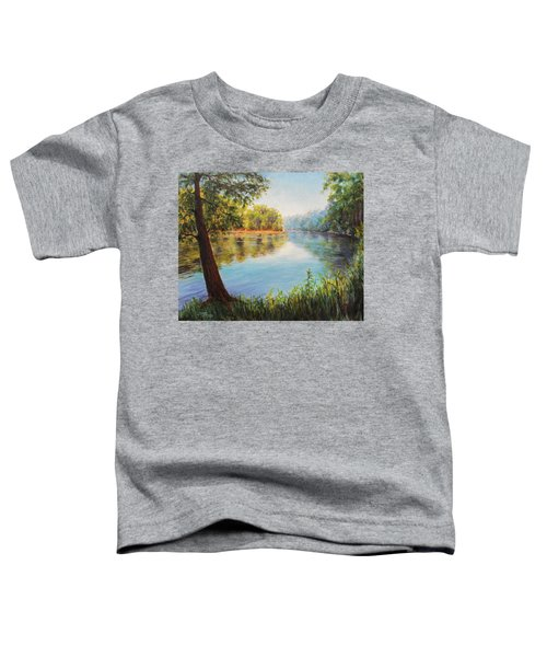 He Leadeth Me Toddler T-Shirt