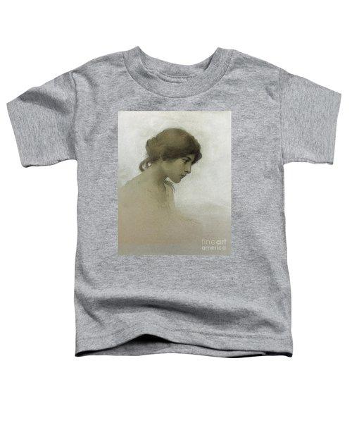 Head Of A Girl  Toddler T-Shirt