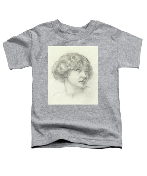 Head Of A Girl  Toddler T-Shirt