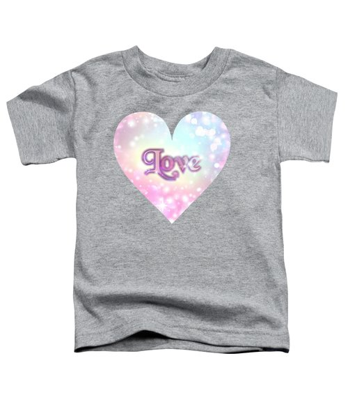 Heart Of Love Toddler T-Shirt