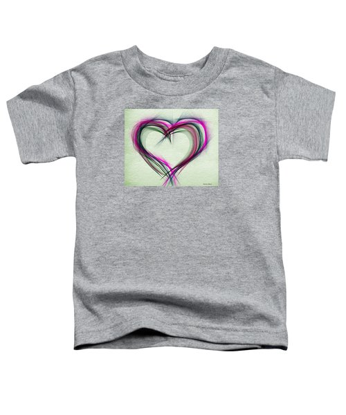 Heart Of Many Colors Toddler T-Shirt