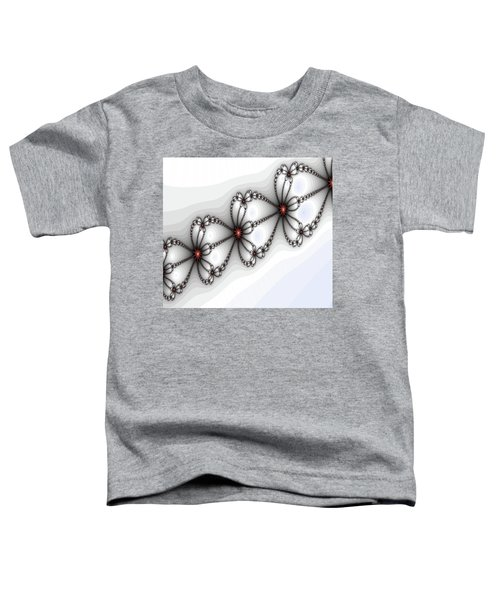 Hearts Of Fire Toddler T-Shirt