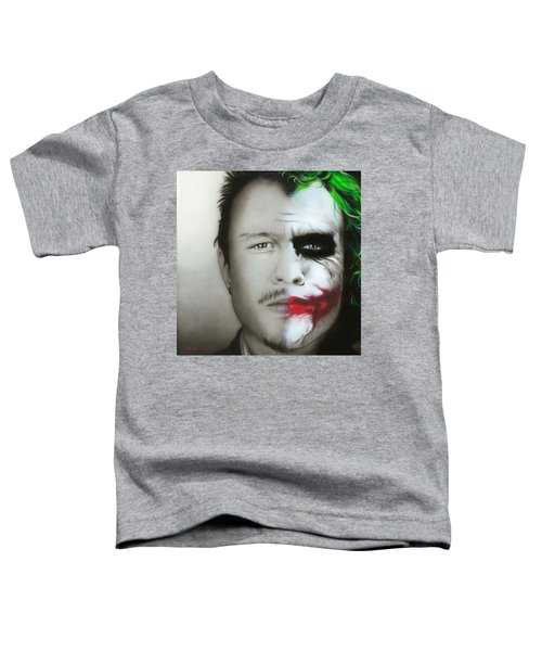 Heath Ledger / Joker Toddler T-Shirt