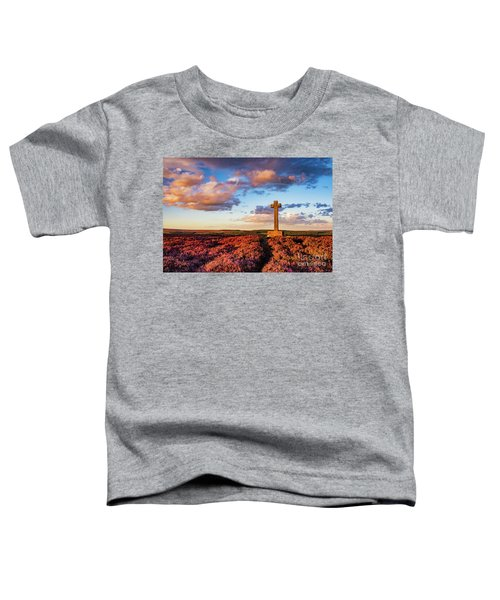 Heather At Sunset At Ana Cross Toddler T-Shirt