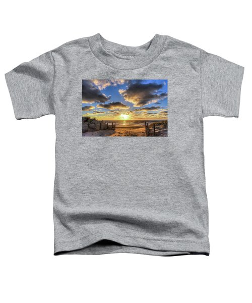 Heavenly Skies At The Jersey Shore Toddler T-Shirt