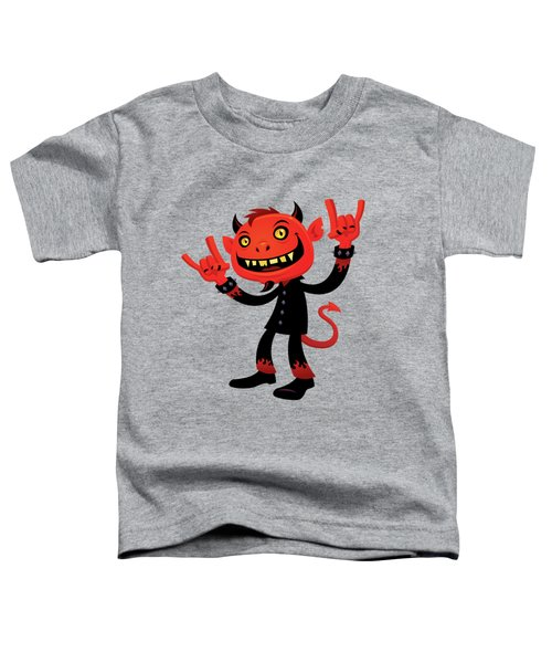 Heavy Metal Devil Toddler T-Shirt