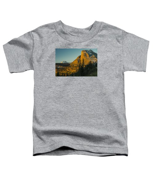 Heavy Runner Mountain Toddler T-Shirt by Gary Lengyel