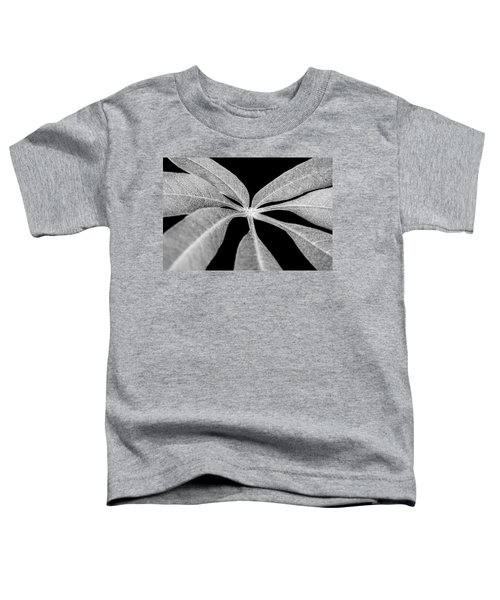 Hemp Tree Leaf Toddler T-Shirt