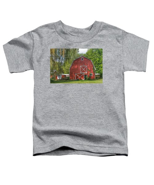 0018 - Henderson Road Red I Toddler T-Shirt