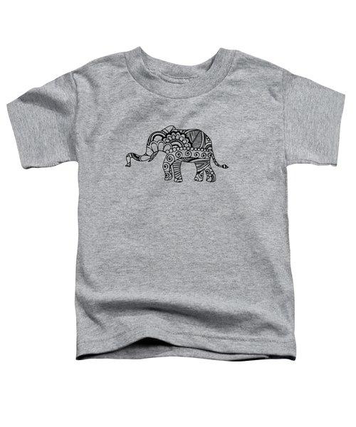 Henna Elephant 1 Toddler T-Shirt