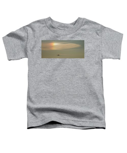 Here We Go Into The Wild Blue Yonder Toddler T-Shirt