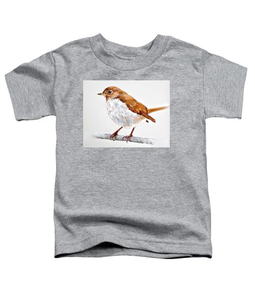 Hermit Thrush - Best 2017 - Acrylic Toddler T-Shirt