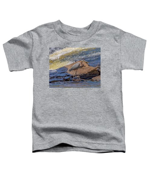 Heron Toddler T-Shirt