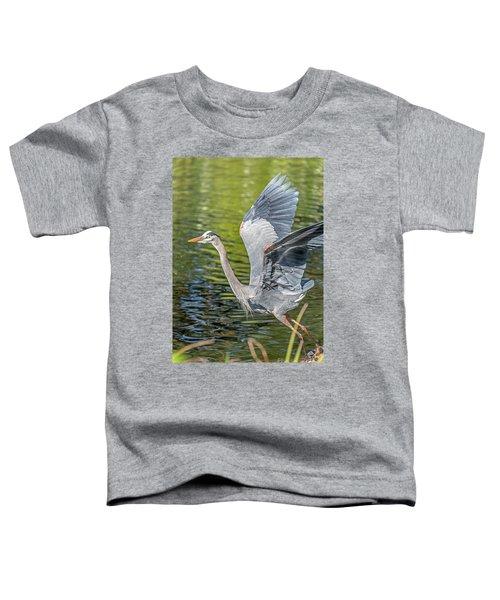 Heron Liftoff Toddler T-Shirt