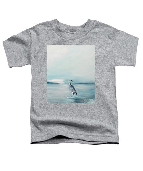 Heron Silence Toddler T-Shirt