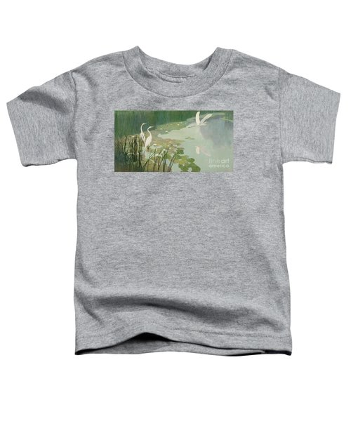 Herons In Summer Toddler T-Shirt