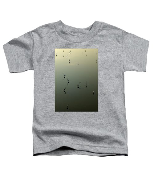Herons On Lake 367 Toddler T-Shirt