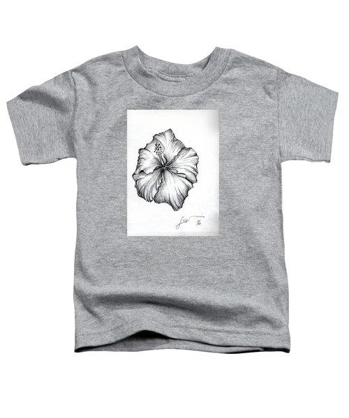 Hibiscus Flower  Toddler T-Shirt