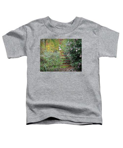 Hidden Gate Toddler T-Shirt by Bellesouth Studio