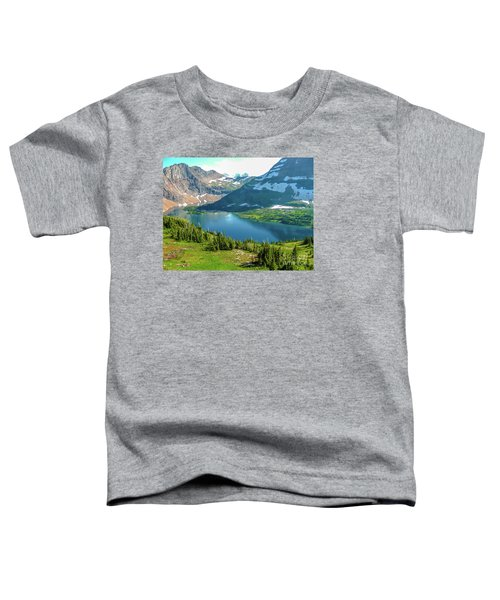 Hidden Lake Glacier National Park Toddler T-Shirt