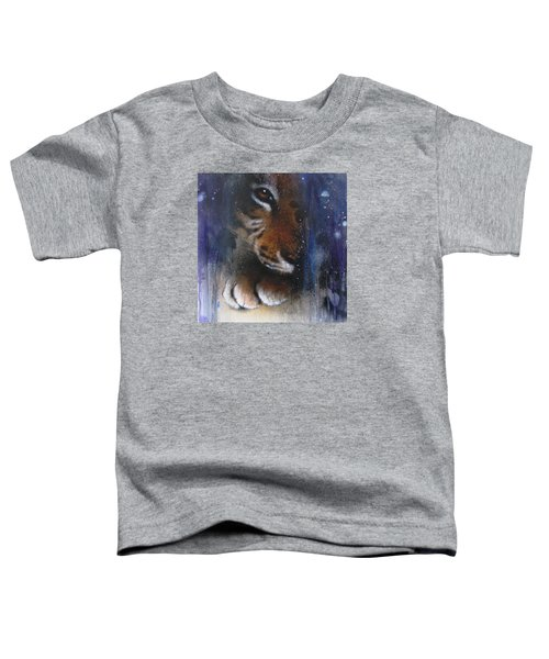 Hidden Tiger Toddler T-Shirt