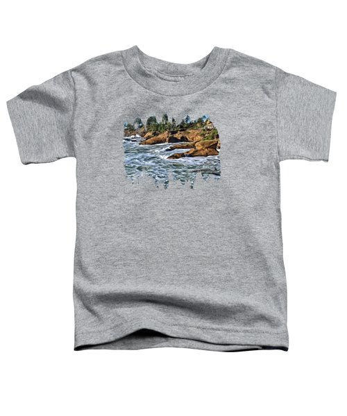 High Tide At Arch Rock Toddler T-Shirt