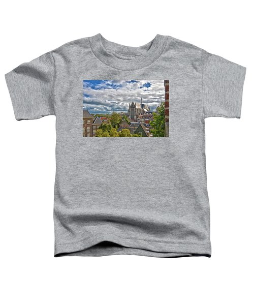 Highland Church Seen From Leiden Castle Toddler T-Shirt
