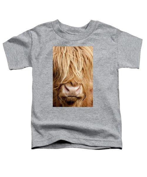 Highland Cow Toddler T-Shirt
