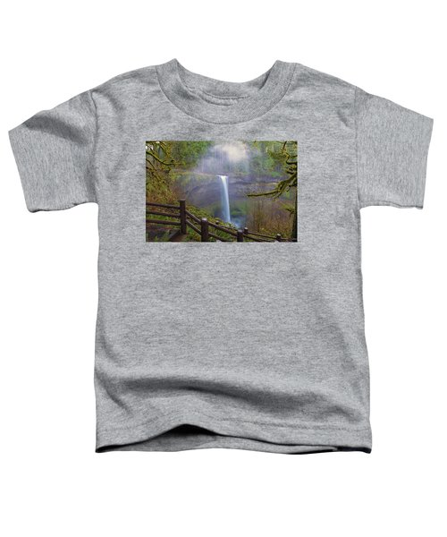 Hiking Trails At Silver Falls State Park Toddler T-Shirt
