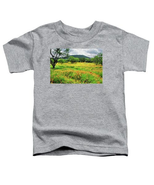 Hill Country Wildflowers Toddler T-Shirt