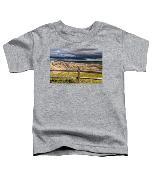 Hills Behind The Fence Toddler T-Shirt