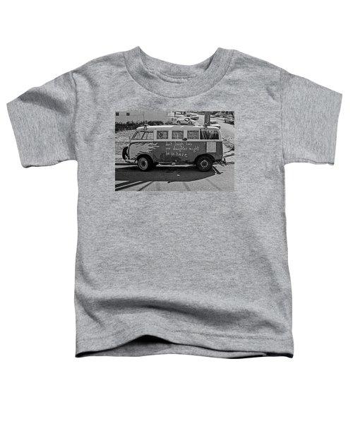 Hippie Van, San Francisco 1970's Toddler T-Shirt