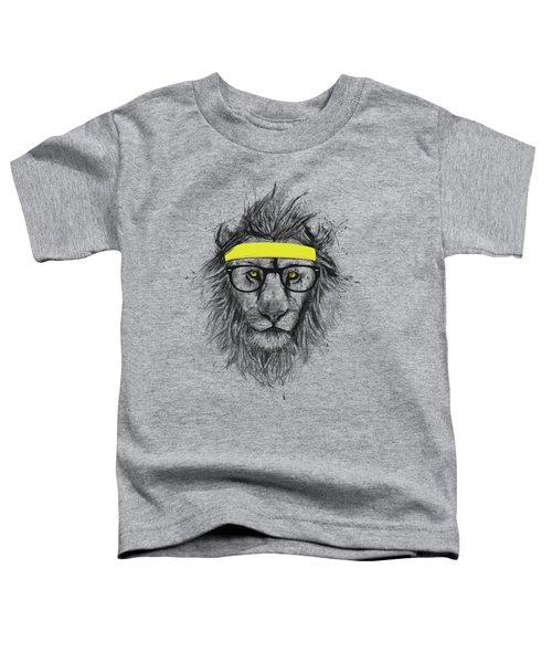 Hipster Lion Toddler T-Shirt