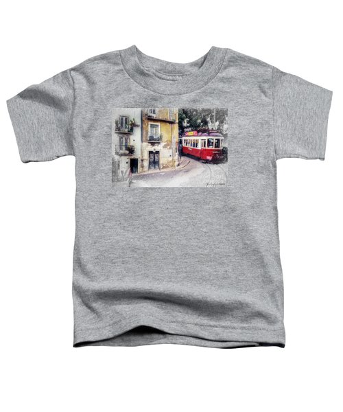 Historic Lisbon Tram Toddler T-Shirt