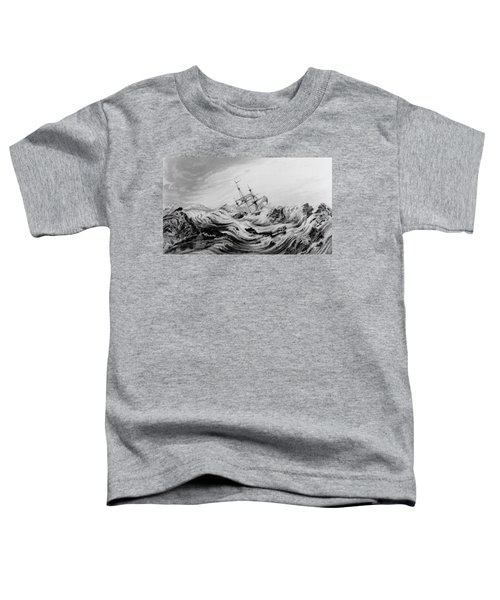 Hms Dorothea Commanded By David Buchan Driven Into Arctic Ice Toddler T-Shirt