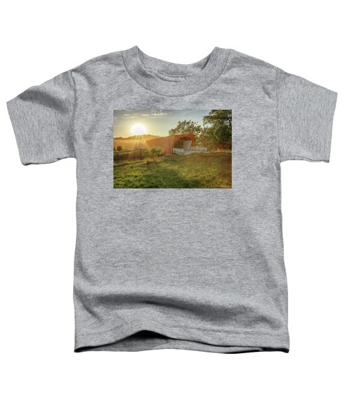 Hogback Covered Bridge 2 Toddler T-Shirt