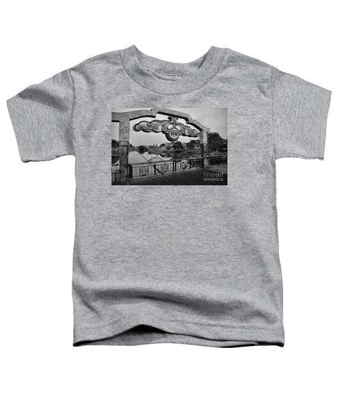 Hoi An Bridge Sign  Toddler T-Shirt