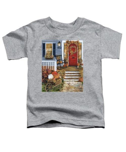 Pumpkin Porch Toddler T-Shirt