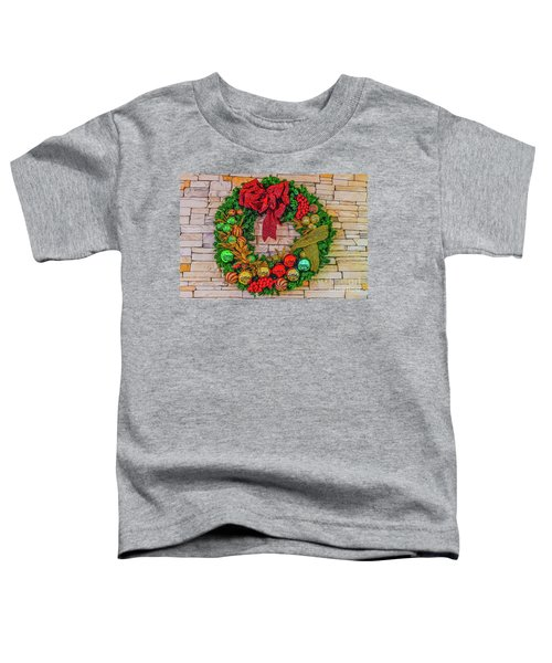 Holiday Wreath Toddler T-Shirt