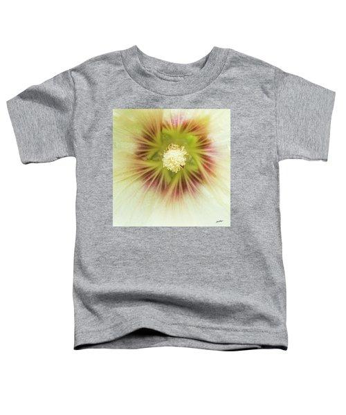 Hollyhock Center Toddler T-Shirt