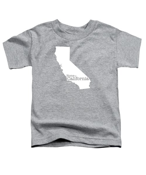 Home Is California Toddler T-Shirt by Bruce Stanfield