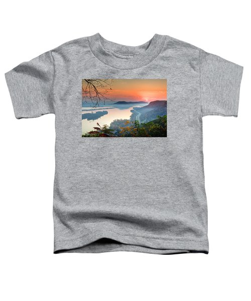 Homer Sunrise Toddler T-Shirt