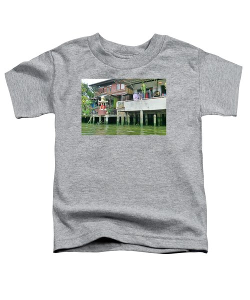 Homes On The Water Toddler T-Shirt