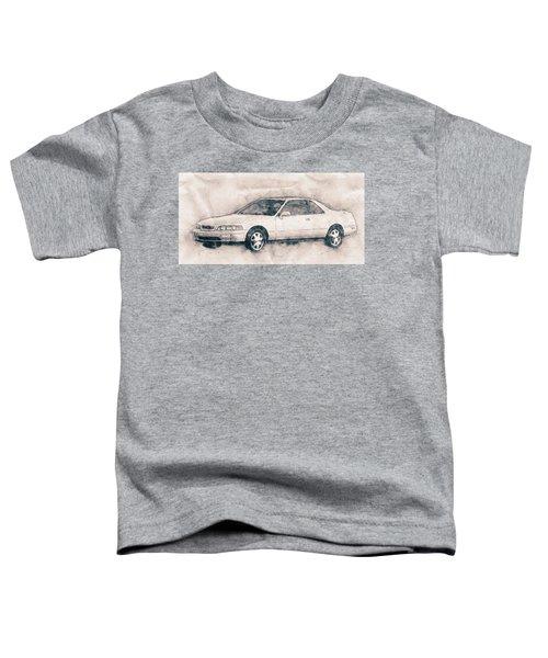 Honda Acura Legend - Executive Car - 1985 - Automotive Art - Car Posters Toddler T-Shirt