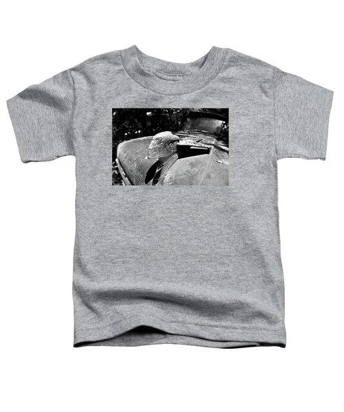 Hood Ornament Detail Toddler T-Shirt