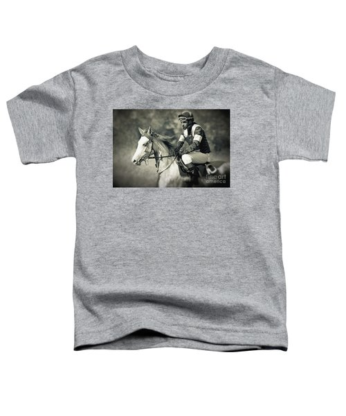 Horse And Jockey Toddler T-Shirt
