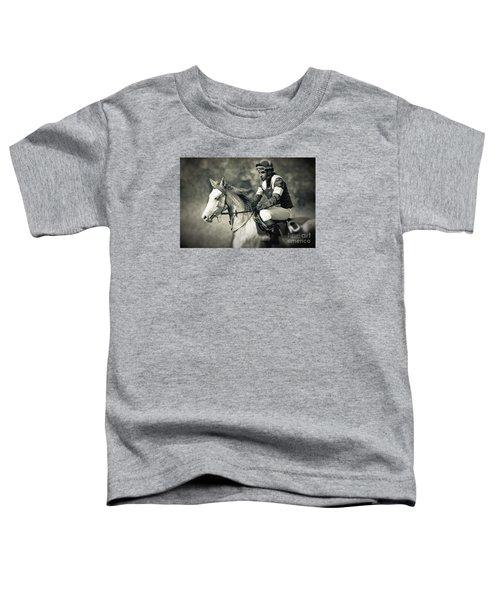 Horse And Jockey Toddler T-Shirt
